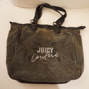 Juicy Couture Crossbody Terry Tote